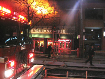 May 8, 2005 - 4th Alarm - 1986 Queen St. East
