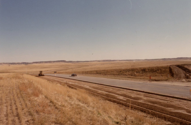 Looking East from Station 17 - October 1987