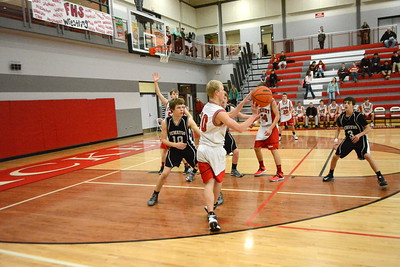Boys Freshman Basketball - 2/10/2015 Newaygo (RT)