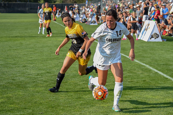 NCAA - Women's Soccer - University of Colorado vs Colorado College - 2015-08-23