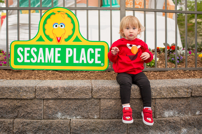 Sesame Place Visits '16