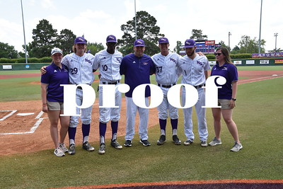 2018 NSU Baseball Senior Day v ACU