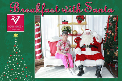 2019.12.08 - Breakfast With Santa, Hotel Venezia, Venice, FL