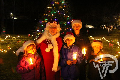MAIN STREET — candlelight stroll ~ sing-a-long. . . christmas tree lighting — Orleans, MA 11 . 29 - 2014
