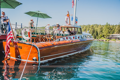 Revellers Aboard the Thunderbird at the Concours d'Elegance, 2011