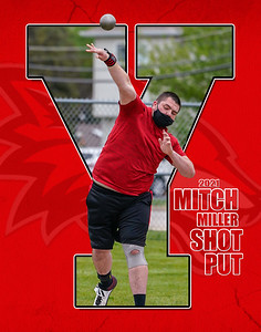 2021 Miller Shot Put Y Print