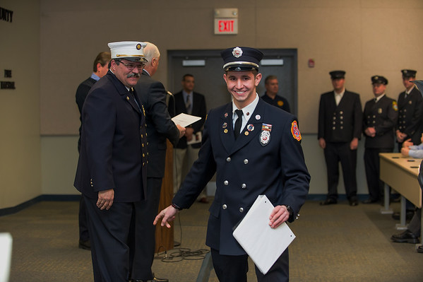 Monmouth County Fire Academy - Class 105 Graduation