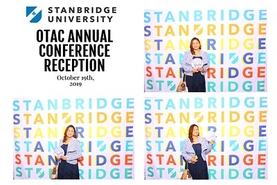 Stanbridge OTAC Conference 10/19/19
