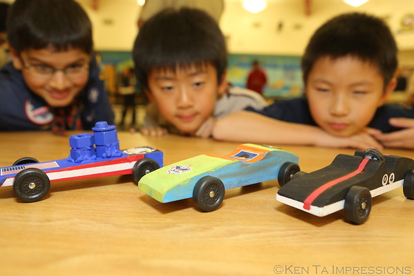 BSA Pack 265 Pinewood Derby Race Day 01/30/15