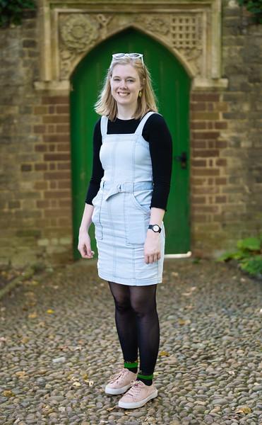Bethany Heath at Christ's College, Cambridge (Sep 2021)