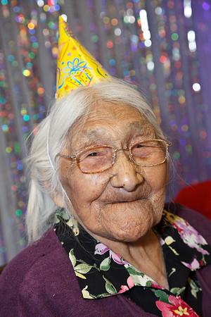Marguerite Wabano's 106th Birthday