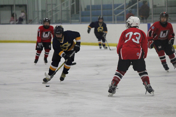 Pee Wee A1 hockey vs. Whalers 11-25-11