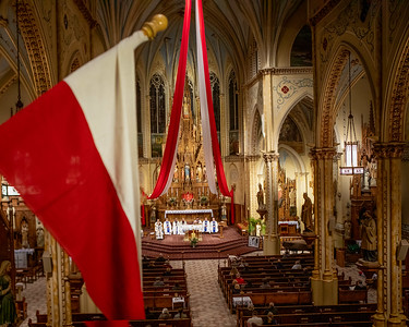 50th Anniversary Cardinal Wojtyla (John Paul II) visit to St. Stans Nov 21