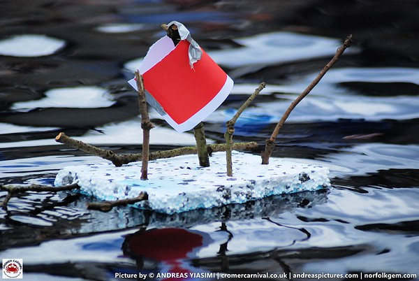 Paper boat, raft and plane racing