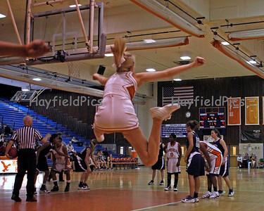 Girls Basketball Washington & Lee 1/29/10