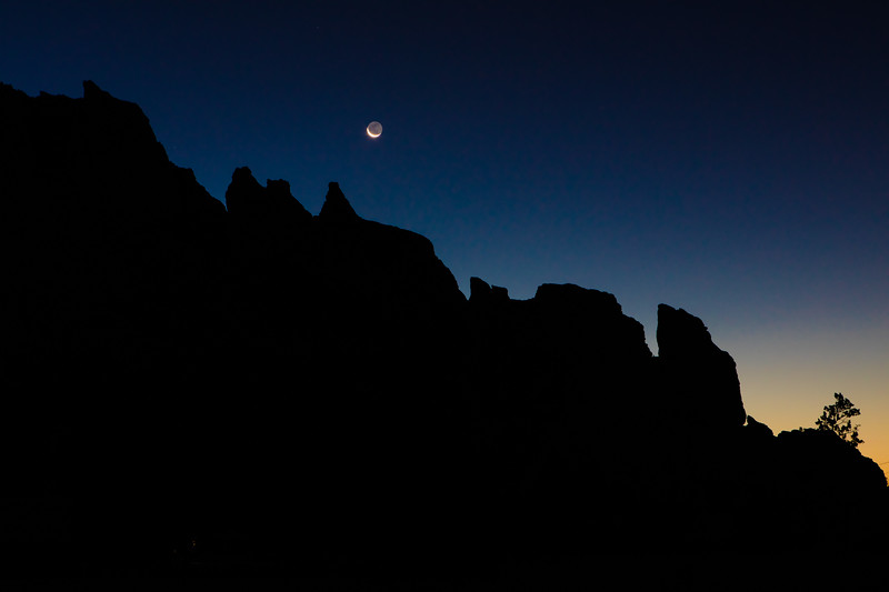 Crescent Moon Smith Rock