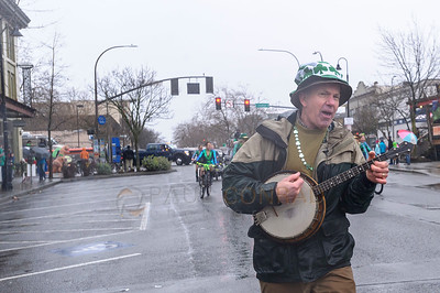 2017 St. Patrick's Day Parade in Bellingham, Wash.