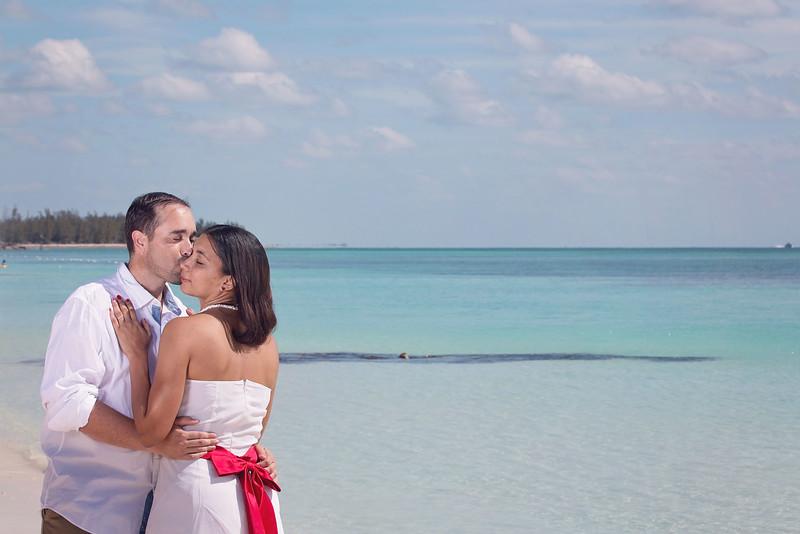 Doira & Henry Bahama Beach