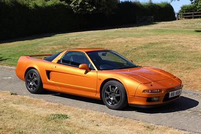 NSX Targa - Imola Orange Pearl
