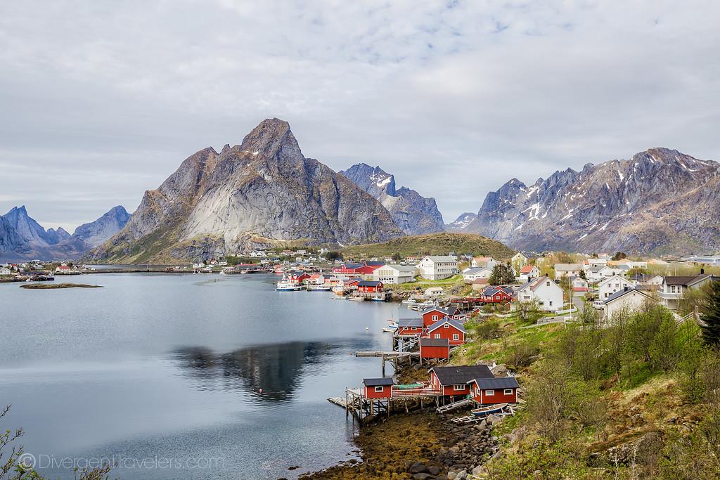 Norway Pictures - Reine Lofoten Islands - Lina Stock