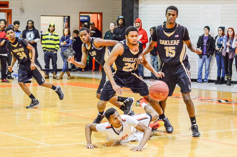 OP vs. Oakleaf Basketball & Dancers Senior Night