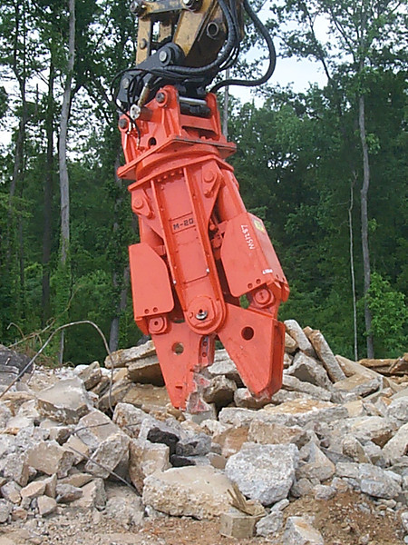 NPK M20G concrete pulverizer with QA20 quick attach on Cat excavator-concrete recycling (48).jpg