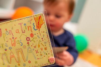 Aunt Danielle Sends Declan a Card