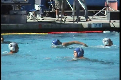 Video -  Santa Barbara Water Polo Club 16U Boys vs Rose Bowl in CCA Zone League and vs San Diego Shores in Cal Cup. January 2009. SBWPC vs RBWPC. SBWPC vs SDSWPC.  Video by Dean Yamamoto.