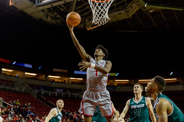 2017 Seattle U Men's Basketball vs Utah Valley