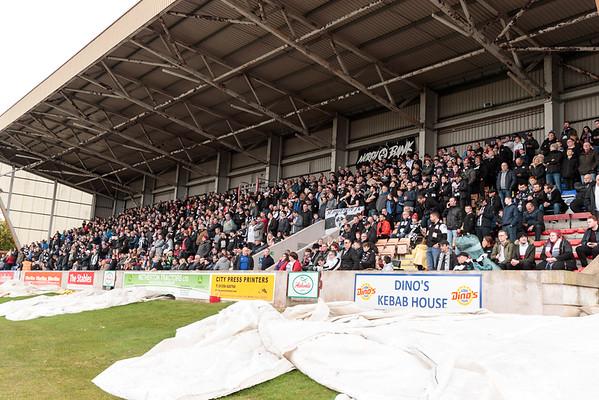 Brechin v St Mirren fans 08/04/18