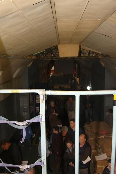 Shorts Brothers Belfast Flight Deck