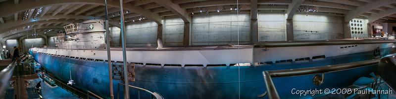 U-505 Mark IX U-boat – MSI - Chicago, Il