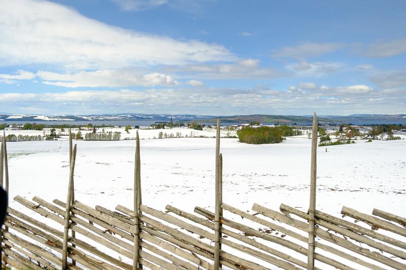 Mai snø