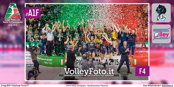 Imoco Volley Conegliano - Nordmeccanica Piacenza   F4 #Finale #MGSVolleyCup #A1F