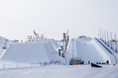 Feb 12-16, 2019 - Calgary halfpipe World Cup