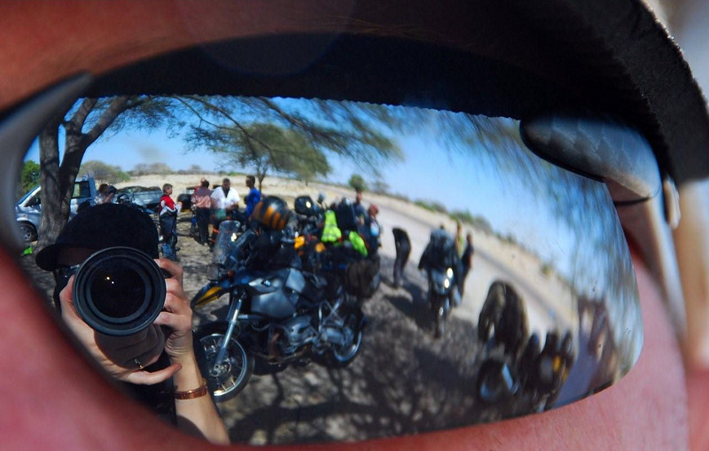 R1200GS Reflection - Photo by Gillian Hine - http://www.unicornpictures.ifp3.com