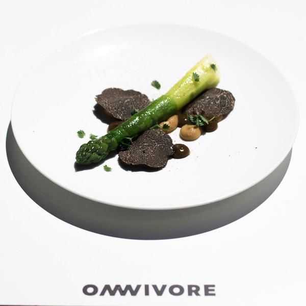 Le plat de Daniel BARATIER Sur la scène salé d'Omnivore