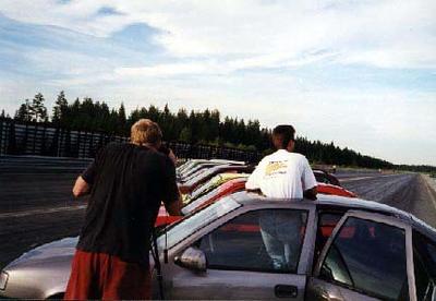 Fotografering til Bilsport