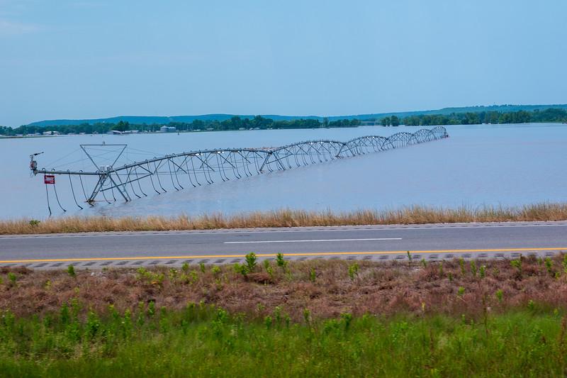Oklahoma Flooding Near Webbers Falls