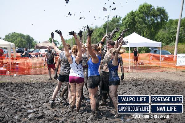 Hobart Jaycees Mud Volleyball Tournament 2014