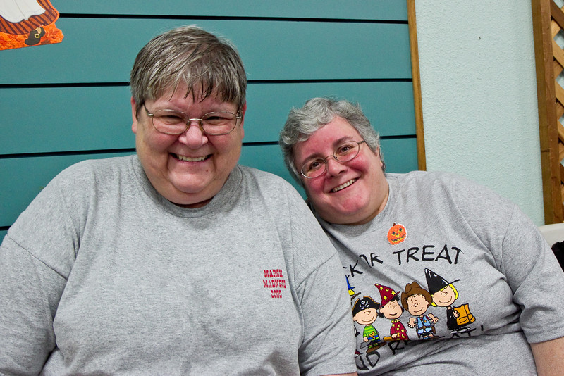 Cindy and Deann at Late Harvest Stomp