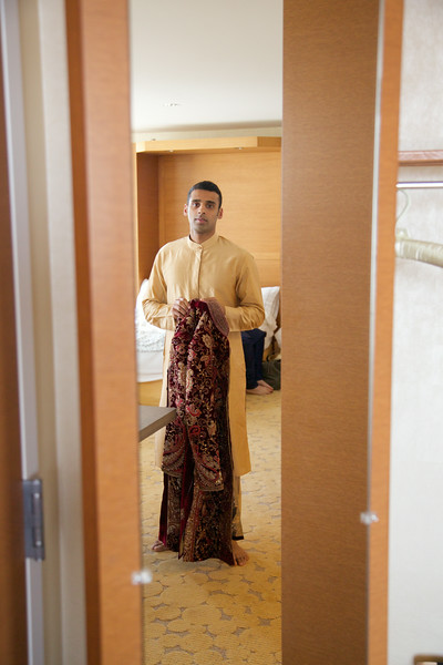 Le Cape Weddings - Indian Wedding - Day 4 - Megan and Karthik Groom Getting Ready 10.jpg