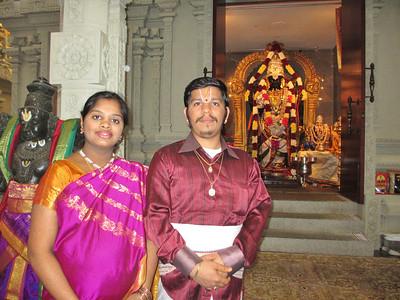 Padma & Priest Govardhan Baby Shower - June 2, 2013