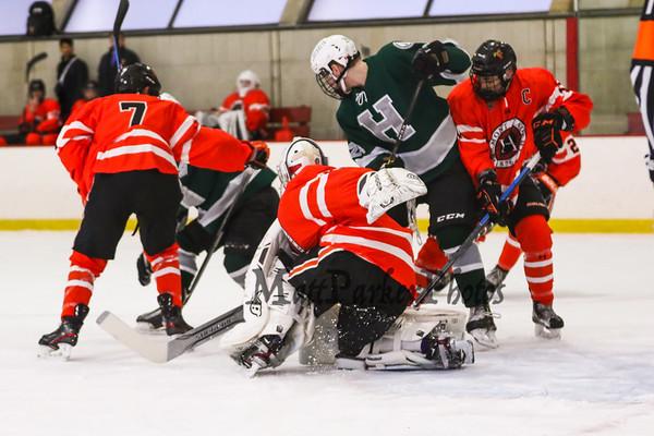 2019-12-8 Hebron Academy Boys Hockey vs Vermont Academy