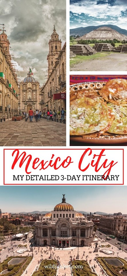 3 days in mexico city - mexico city itinerary