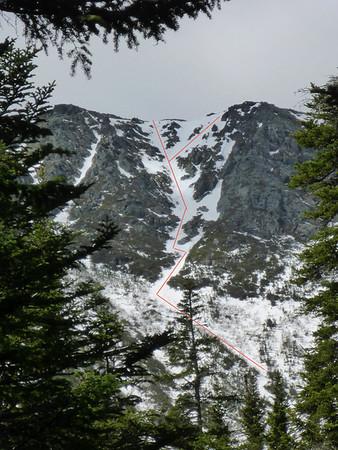 Dodge's Drop, Mt. Washington, 05/11/2014 (private trip)