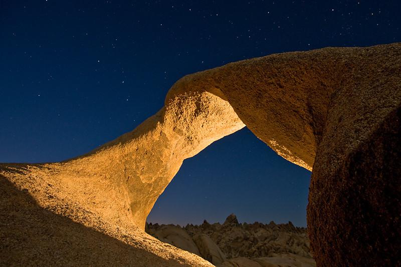 Alabama Twist  Mobius Arch, Alabama Hills, Lone Pine, CA