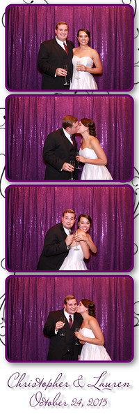Lauren and Chris' Photo Booth Pics