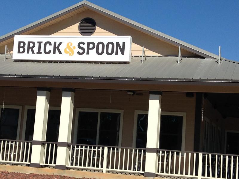 brick and spoon orange beach