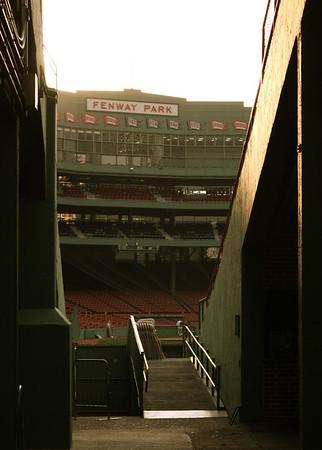 Red Sox Employee Batting Practice
